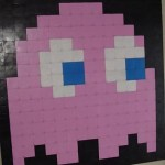 Pac-Man Wall Art From Floppy Disks