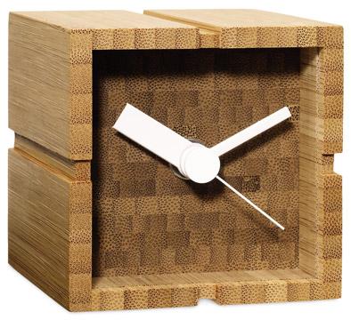 Yusuke Tsujita bamboo desk clock