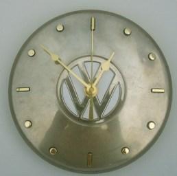 Volkswagen hubcap clock