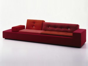 Modern red Polder sofa
