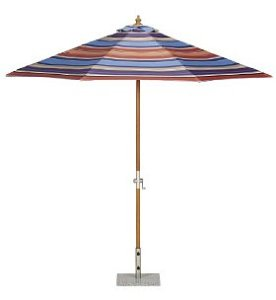 Modern and contemporary garden parasols