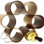 Unusual decorative knot wine rack
