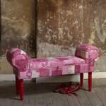 Plumo pink Sari bench