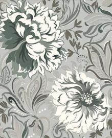 Prestigious Radiance silver wallpaper