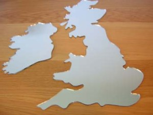 UK mirror map