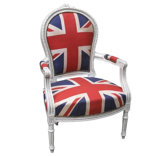 Waterloo Union Jack armchair
