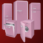 Breakthrough Breast Cancer Smeg pink appliances