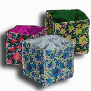 Handmade velvet box