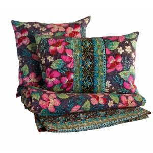 Vibrant Jali quilt