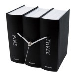 Quirky Karlsson book clocks