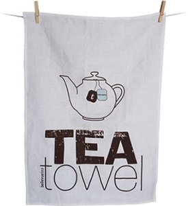 Limited edition tea towel