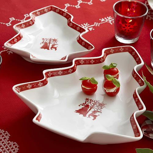 Christmas reindeer dishes