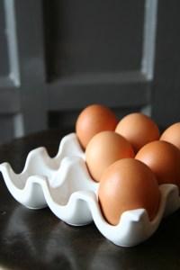 Stylish egg holder