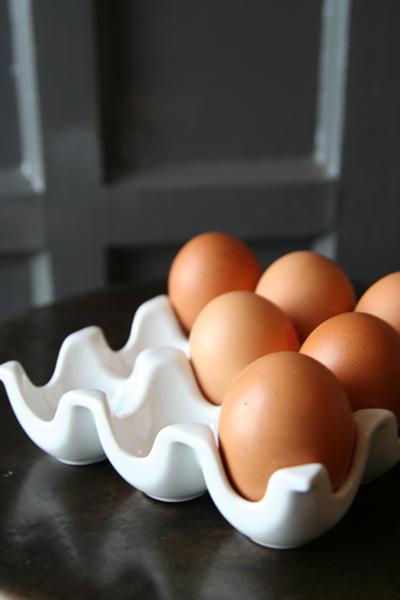 Ceramic egg box from Rockett St George