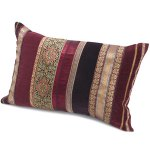 Plum braid cushion from Monsoon Home