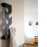 J-me black wave coat rack
