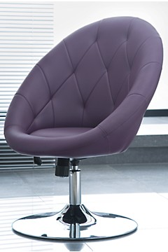 Contemporary purple chair