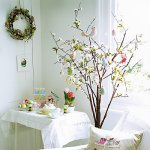 Easter blossom paper tree from John Lewis