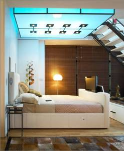 Leather Park Lane TV bed