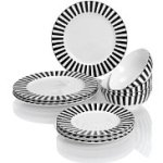 M&S Ruby 12 piece dinner set