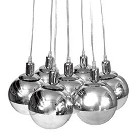Retro 7 light pendant
