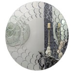 Round bubble mirror from Heal's