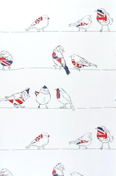 Royal Birds of a Feather wallpaper