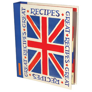 Union Jack recipe journal file
