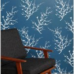Easy home decorating with Tempaper wallpaper