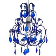flounce-flock-chandelier-blue