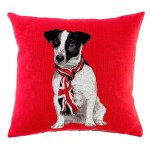 British Jack cushion