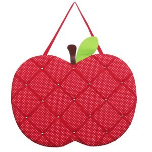 Red apple memo board