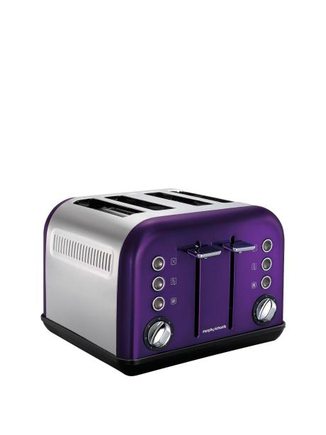 Fab four slice toaster in a lovely plum shade of purple