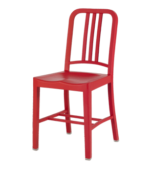 Emeco 111 Navy Chair made from Cola bottles