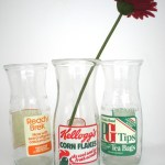 Upcycled glassware by Who's? Glass