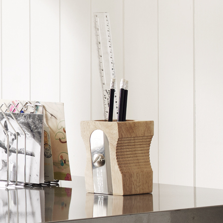 Pencil sharpener desk tidy from Graham and Green