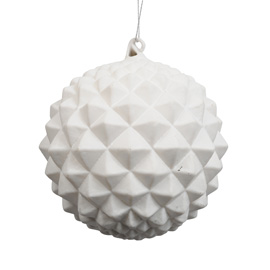 Pyramid design modern christmas tree bauble from Heal's