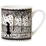 Elle Deco limited edition Rob Ryan Shelter mug