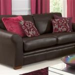 Next Tuscany leather sofa