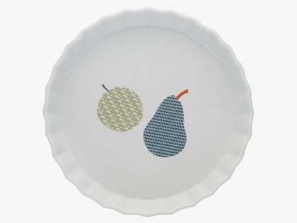 Bargain buy: Aven fruit design flan dish