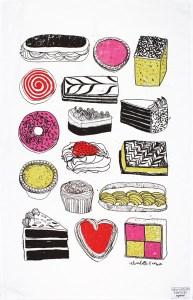 Tea time cakes and treats