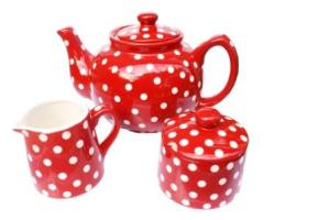 Retro red homeware trend