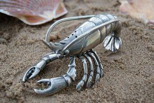 Nautical sea trend lobster salt shaker