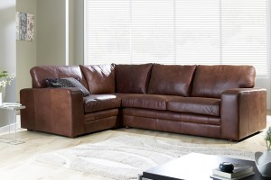 Leather corner sofa for your home