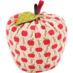 Fun, fresh and stylish apple door stop