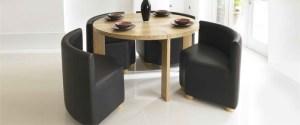 Modern circular dining table