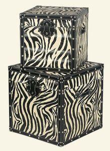 Zebra animal print trend home interiors