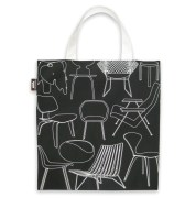 Chair design fabric canvas bag by Mini Moderns
