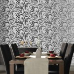 Swurly Whurly designer wallpaper by Laurence Llewelyn Bowen