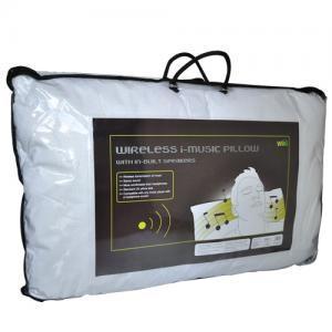 i-music mp3 home technology wireless pillow
